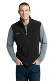 Eddie Bauer Fleece Vest Black Thumbnail