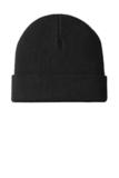 Knit Cuff Beanie Black Thumbnail