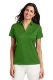 Women's Performance Fine Jacquard Polo Shirt Vine Green Thumbnail