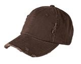 Distressed Cap Chocolate Brown Thumbnail