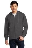 V.I.T.Fleece Full-Zip Hoodie Heathered Charcoal Thumbnail