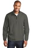 Zephyr 1/2-Zip Pullover Grey Steel Thumbnail