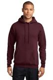 7.8-oz Pullover Hooded Sweatshirt Maroon Thumbnail