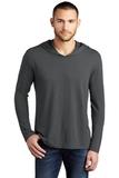 Men's Perfect Tri-Long Sleeve Hoodie Charcoal Thumbnail