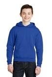 Youth Pullover Hooded Sweatshirt Royal Thumbnail