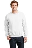 Heavy Blend Crewneck Sweatshirt White Thumbnail