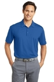 Nike Golf Dri-FIT Vertical Mesh Polo Gym Blue Thumbnail