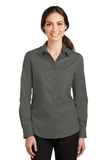 Women's SuperPro Twill Shirt Sterling Grey Thumbnail