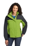Women's Nootka Jacket Bright Pistachio with Graphite Thumbnail