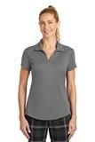 Women's Nike Golf Dri-FIT Legacy Polo Dark Grey Thumbnail