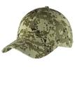 Digital Ripstop Camouflage Cap Green Camo Thumbnail