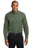Tall Long Sleeve Easy Care Shirt Clover Green Thumbnail