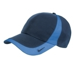 Nike Golf Technical Colorblock Cap Navy with Pacific Blue Thumbnail