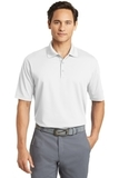 Nike Golf Dri-FIT Micro Pique Polo Shirt White Thumbnail