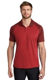Nike Dry Raglan Polo Gym Red with Team Red Thumbnail