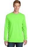 PigmentDyed Long Sleeve Tee Neon Green Thumbnail