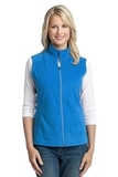 Women's Microfleece Vest Light Royal Thumbnail