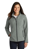 Women's Core Soft Shell Jacket Pearl Grey Heather Thumbnail