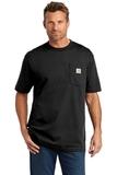 Carhartt Tall Workwear Pocket Short Sleeve T-Shirt Black Thumbnail