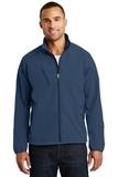 Textured Soft Shell Jacket Insignia Blue Thumbnail