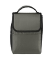 Lunch Bag Cooler Grey with Black Thumbnail