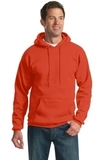 Tall Ultimate Pullover Hooded Sweatshirt Orange Thumbnail