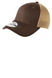 Era Stretch Mesh Cap Chocolate with Khaki Thumbnail