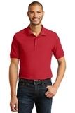 6.5-Ounce 100 Double Pique Cotton Sport Shirt Red Thumbnail