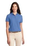 Women's Silk Touch Polo Shirt Ultramarine Blue Thumbnail