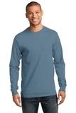 Essential Long Sleeve T-shirt Stonewashed Blue Thumbnail