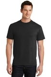 50/50 Cotton / Poly T-shirt Jet Black Thumbnail