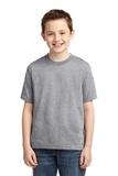 Youth 50/50 Cotton / Poly T-shirt Athletic Heather Thumbnail