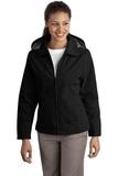 Women's Legacy Jacket Black with Steel Grey Thumbnail