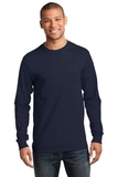 Essential Long Sleeve T-shirt Deep Navy Thumbnail