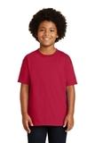 Youth Ultra Cotton 100 Cotton T-shirt Cherry Red Thumbnail