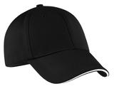 Nike Golf Dri-fit Mesh Swoosh Flex Sandwich Cap Black Thumbnail