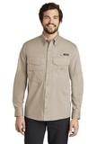 Eddie Bauer Long Sleeve Fishing Shirt Driftwood Thumbnail