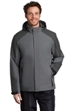 Insulated Waterproof Tech Jacket Shadow Grey with Storm Grey Thumbnail