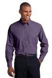 Crosshatch Easy Care Shirt Grape Harvest Thumbnail