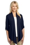 Women's Concept Shrug Dress Blue Navy Thumbnail