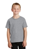Youth 5.5-oz 100 Cotton T-shirt Athletic Heather Thumbnail
