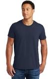 Ring Spun Cotton T-shirt Navy Thumbnail