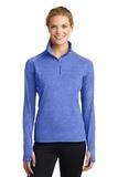 Women's Stretch 1/2-zip Pullover True Royal Heather Thumbnail