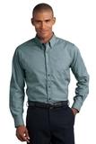 Button-down Mini-check No-iron Shirt Mallard Green Thumbnail