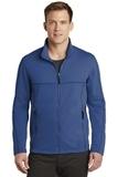 Collective Smooth Fleece Jacket Night Sky Blue Thumbnail