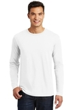Long Sleeve Perfect Weight District Tee Bright White Thumbnail