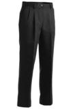 Women's Pleated 100 Cotton Pant Black Thumbnail