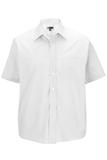 Men's Value Broadcloth Shirt SS White Thumbnail