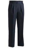 Women's Pleated Pant Navy Thumbnail