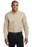 Tall Long Sleeve Easy Care Shirt Stone Thumbnail